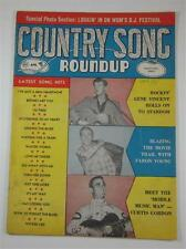 COUNTRY SONG ROUNDUP MAGAZINE #49 APR 1957 GENE VINCENT JAYNE  MANSFIELD
