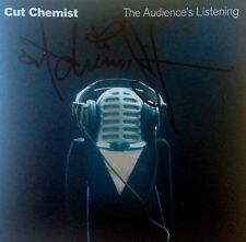 Cut Chemist : The Audience's Listening Autographed Signed CD 2006 DJ Turntablism