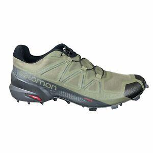 Salomon Speedcross 5 Mens 10.5 Grape Leaf / Black / Phantom Trail Running Shoes