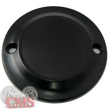 Black Clean Classic Style 2 Hole Timing Point Cover for Harley 04-15 Sportster