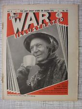 The War Illustrated # 89 (Greece, Gibraltar, Plymouth, HMS Prince Of Wales, RAF)
