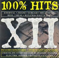 100% HITS ~ XII [1993 Release] ~ Compilation CD Album ~ GC!