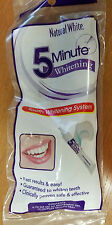 gel and tray - teeth WHITENING SYSTEM - Natural White - multiple uses - in 5 min