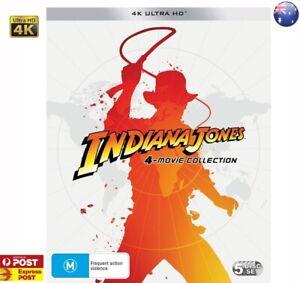 Indiana Jones - The Complete Adventures 4K ULTRA HD UHD BOXSET ==BRAND NEW==