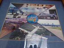 Framed Montage Photo 14 AMS Air Maintenance Squadron Aurora RCAF Base Greenwood