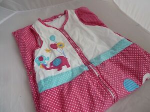 Jojo Maman Bebe baby snuggle sleeping bag extendible 18 months - 4 years 2.5 tog