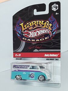 "H.W. ( Dairy Delivery ) , Chase ,"" Larry's Garage "" # 12 of 20 , White & Teal"