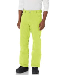 Spyder Active Sports Men's Mesa GTX, Gore-TEX Ski Pant -Sharp Lime- Medium