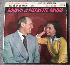 Bourvil & Pierrette Bruno, aux quatres saisons, EP - 45 tours