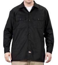 Camicie classiche da uomo neri manica lunghi