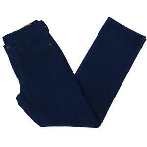 Levi Strauss & Co. Mens 514 Blue Corduroy Straight Leg Pants 31/32 BHFO 4020