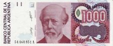 Argentina - Argentina billete nuevo de 1000 australes pick 329 firma 1 UNC