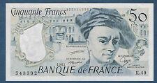 FRANCE.50 FRANCS QUENTIN DE LA TOUR Fayette n° 67.13 de 1987 en NEUF K.49 543392