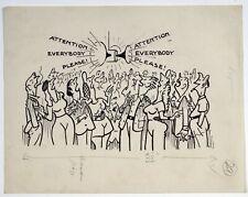 """Alan Hervey d 'egville (1891-1951) Libro Ilustración' atención a todo el mundo por favor"""""""