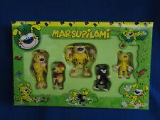 Marsupilami Figures Gift Set of 5 PVC Figures - Plastoy