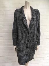 JOSEPH para mujeres Largo Cardigan Sweater Jumper de punto grueso talla M Mediano/L Grande