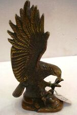 LARGE - Vintage Style EAGLE  statue - BRASS - RARE - Little & Very Nice (1598)