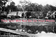 BR 5 - The Goldfish Pond, Kingsweston, Shirehampton, Bristol c1940 - 6x4 Photo