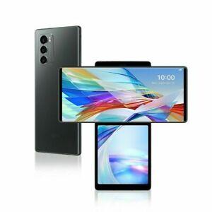 Unlocked LG WING 5G 256GB - LM-F100UM AT&T GSM World Gray Phone