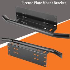 License Number Light/Lamp Plate Frame Holder Bull Bar Bumper Mount LED Bracket