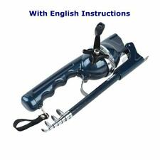 Blisswill Fishing Gear Pocket Fishing Rod Rod & Reel Combos Telescopic Rod Co.