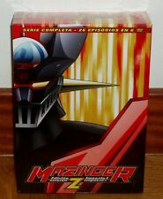 MAZINGER Z SERIE COMPLETA EDICION IMPACTO 6 DVD NUEVO PRECINTADO (SIN ABRIB) R2