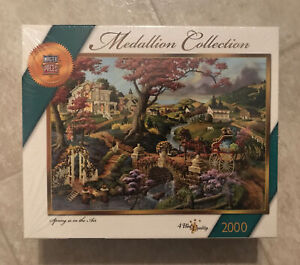 MasterPieces Medallion Collection Spring Is In The Air 2000 Pc JigsawPuzzle NEW*