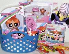 NEW POWER PUFF GIRLS EASTER TO GIFT BASKET FIGURE PLAY SET DOLL TOYS TOY LOT