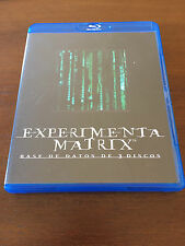 EXPERIMENTA MATRIX - BASE DE DATOS DE 3 DISCOS - 3 DVD - WARNER BROS 2008