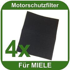 4x Motorschutzfilter f. alle Miele Staubsauger universell einsetzbar Motorfilter