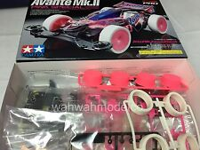 Tamiya 95061 JR Avante Mk.II Pink Special MS Chassis Pink Clear Body Mini 4WD