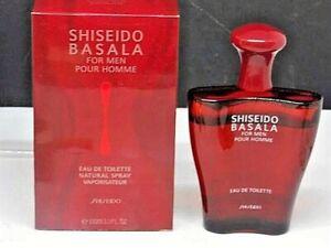 Shiseido Basala for men 3.3 FL OZ (100 ml) EDT USED SEE PHOTOS