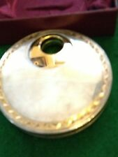 Kirk Steiff Silver Perfume Dispenser In Silver Plate Compact In Orig Box