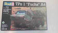 "1/72 scale Revell Modern German Tpz1 "" Fuchs "" A4 model kit"