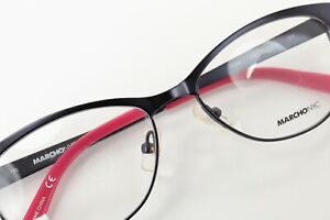 MARCHON NYC ROW 412 Satin Midnight Blue / Pink 51-15-135 Eyeglass Frames L66