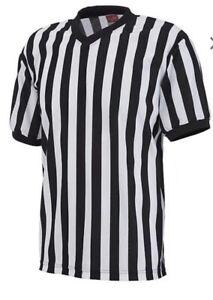 Rawlings Adult V-Neck Whistle hoop REFEREE Shirt XL