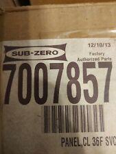 Subzero Service Panel 36F 7007857
