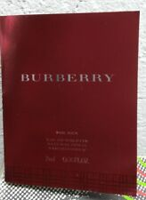 BURBERRY POUR HOMME 2 ML VIAL SAMPLE!!!