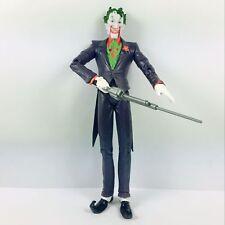 "6"" DC Direct Batman Arkham Asylum JOKER with Gun Figure Boy Toy Collection"