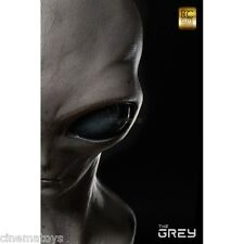 ELITE CREATURE THE GREY Classic ALIEN Toynami Cinemaquette Life Size Bust 1:1