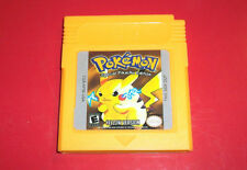 Pokemon: Yellow Version - Special Pikachu Edition With Case (Tested, Saves)