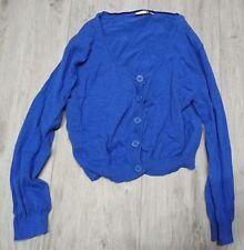 Bolero Jäckchen Damenshirt blau Gr. 42