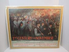 1896 Jay Hambidge The Century for November Poster Lithograph by C H Buek Rare