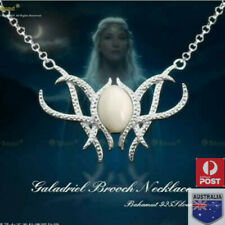 Film The Hobbit Fairy Queen Lord of The Rings Vogue Galadriel Pendant Necklace