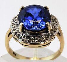 Ring Multi-tone Gold 9k Vintage & Antique Jewellery