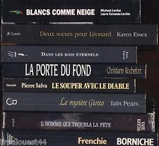 Lot de 8 livres de littérature contemporaine