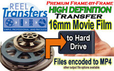 High Definition transfer of 16mm film to HDD (frame-by-frame transfer scanning)