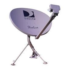 KAKU  SWM 3 LNB 21 TUNNER HD DIRECTV DISH SATELLITE 101-110-103-99 LONG MAST