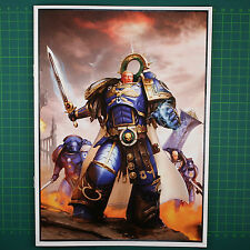 Triumvirates of the Primarch wendeposter A4 Space Marines Warhammer 40k