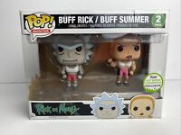 Funko Pop! Rick & Morty Buff Rick/Buff Summer 2 Pack 2017 Spring Convention Exc.